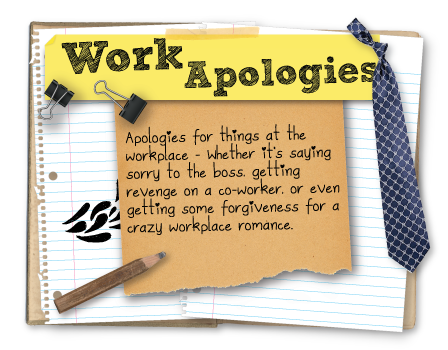 Workplace apologies